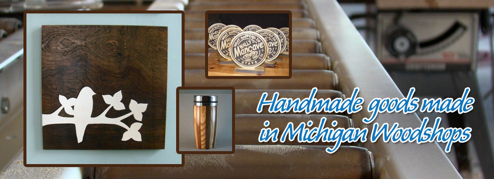 Handmade Michigan Wood Workshops - Unique Wooden Gifts